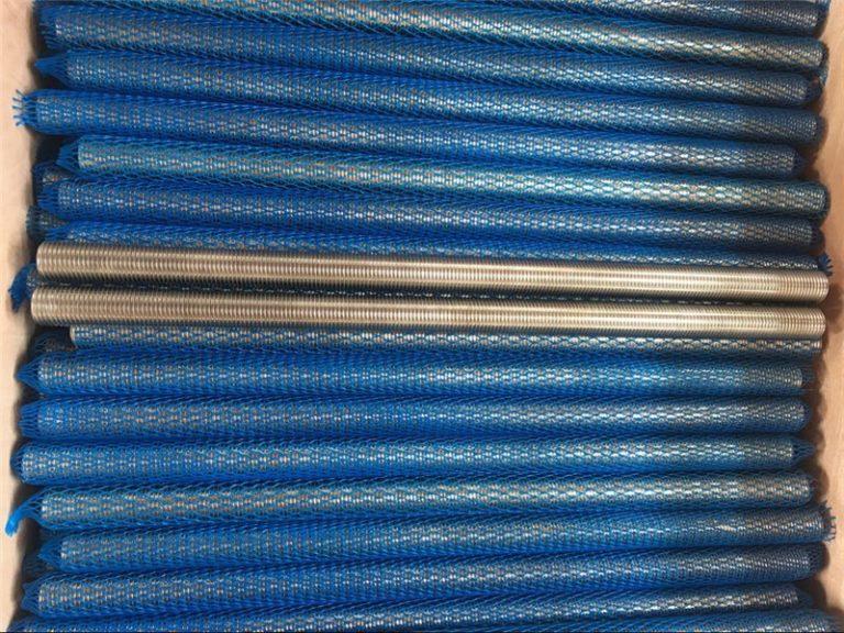 סגסוגת ניקל Inconel601 / 2.4851 מוט הברגה טרפזי מוצרים חדשים