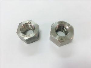 No.108-יצרני מחברי סגסוגת מיוחדים אגוזי hastelloy C276
