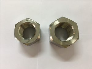 No.111-ייצור סגסוגת ניקל A453 660 1.4980 אגוזי הקס