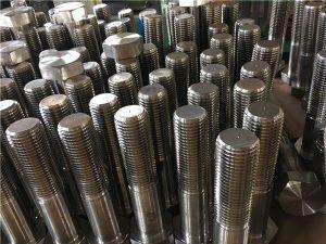 ברגים No.12-hex ISO4014 חצי חוט A193 B8, B8M, B8T, B8C אטב SS