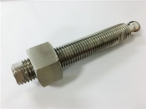 מספר 22-Custom CNC כרסום בורג ראש כדור נירוסטה ומחבר