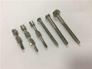 No.41-CNC חלק מכונה טיטניום בורג ואום