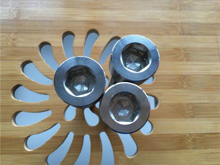 שקע Hex באיכות גבוהה ASEM טיטניום gr2 בורג / בורג / אגוז / מכונת כביסה /