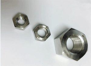 דופלקס 2205 / F55 / 1.4501 / S32760 מחברי נירוסטה אגוז משושה כבד M20